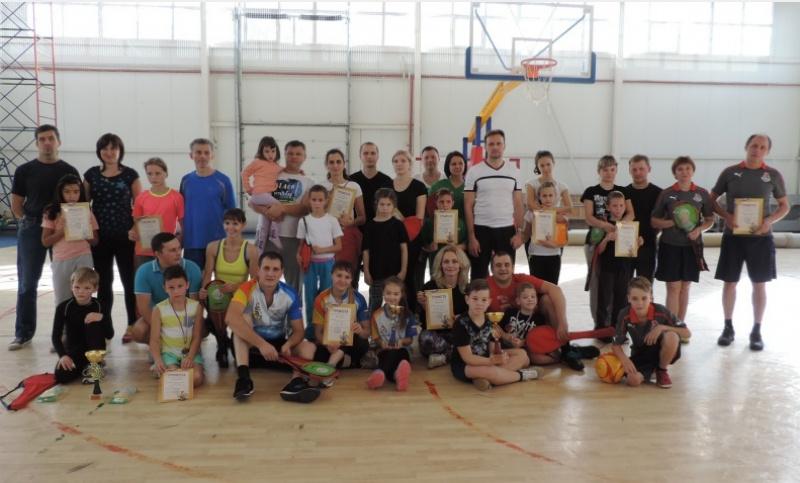 В Смоленске устроили спортивные состязания семей