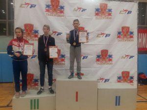 Юный смолянин взял «золото» на московском турнире