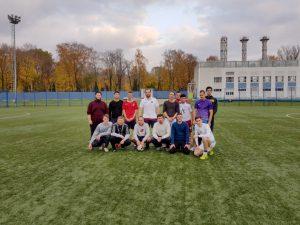 Семинаристы сыграли в футбол со студентами академии физкультуры
