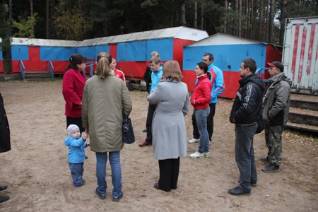Глава Вяземского района провела рабочую встречу с родителями и педагогами секции биатлона