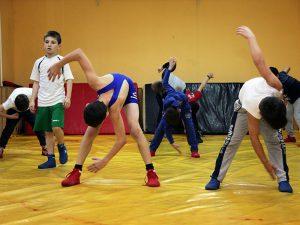 Юные «вольники» райцентра Смоленской области боролись с ветхостью спортшколы