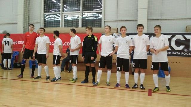 Юноши «Автодора» стартовали в первенстве России по мини-футболу