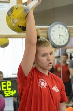 Открытое Первенство Смоленской области по гиревому спорту среди юношей и юниоров