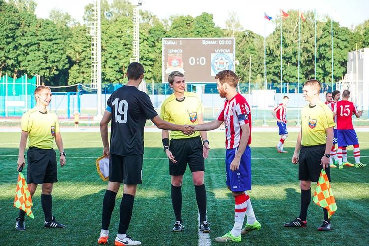 Смоленские футболисты сыграют очередной матч в Муроме
