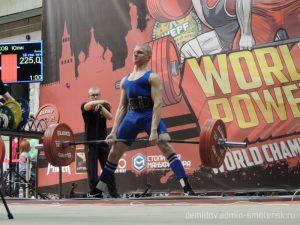 Смолянин стал чемпионом мира по пауэрлифтингу