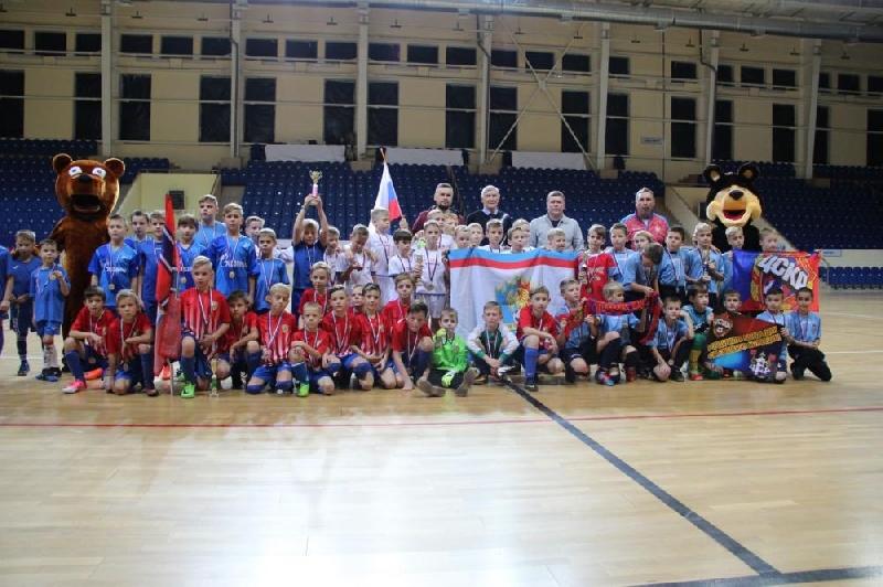 Юные воспитанники «Печерска» выиграли Кубок Смоленска по мини-футболу