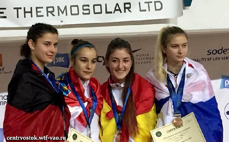 Студентка смоленского училища завоевала «бронзу» первенства Европы по тхэквондо
