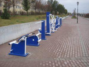 На набережной в Смоленске установили тренажеры