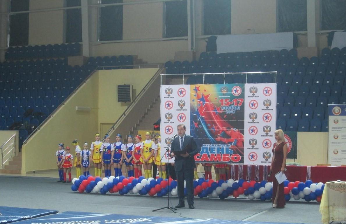 Смоленск принимает участие во Всероссийском дне самбо