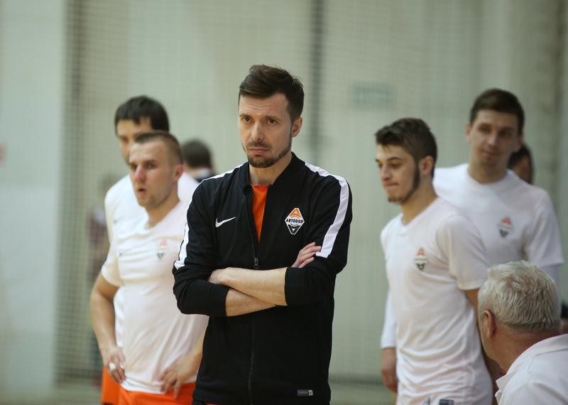 Главный тренер «Автодора»: «В матче с «Диной» в нужные моменты сохраняли концентрацию»