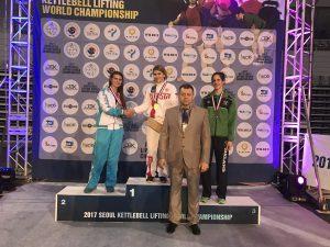 Смолянка Алина Васькина во второй раз стала чемпионкой мира по гиревому спорту