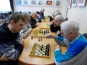 В Доме ветеранов состоялся шахматный турнир