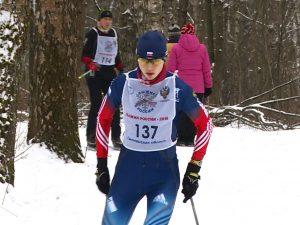 Смоляне сдали норматив ГТО по лыжам