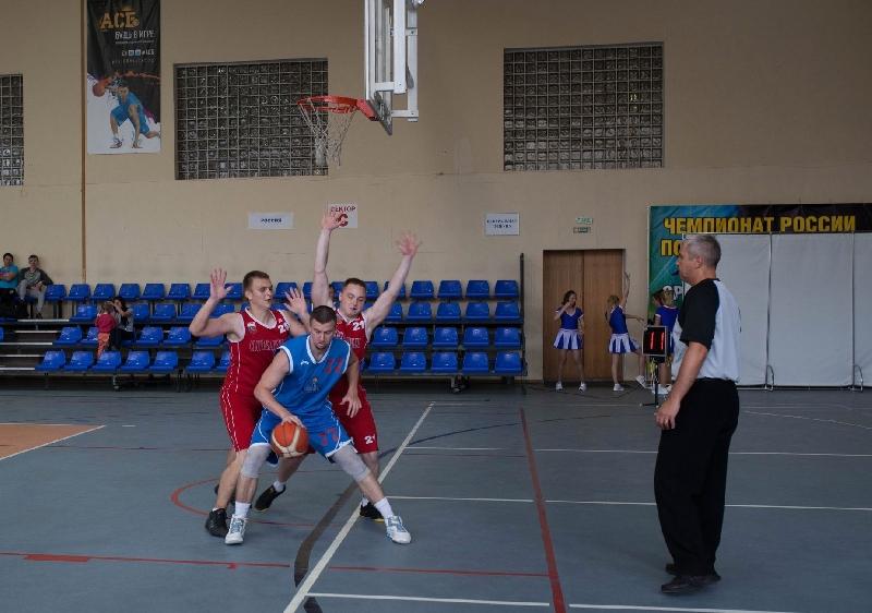 Баскетболисты СГАФКСТ упрочили лидерство в чемпионате АСБ