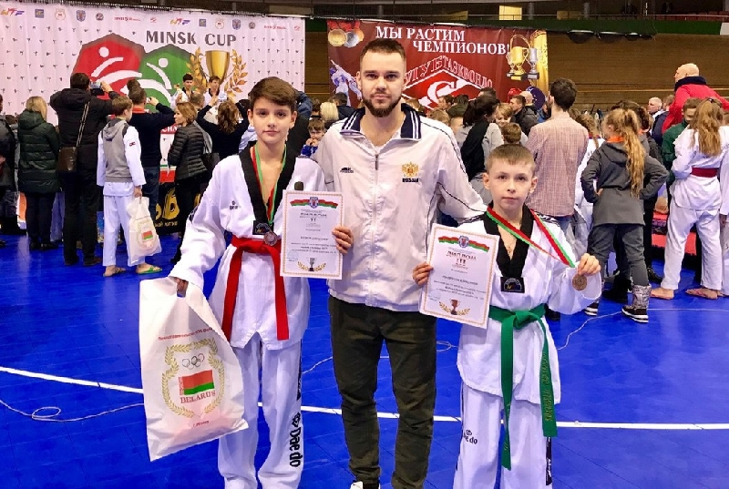 Смоленские тхэквондисты привезли медали международного турнира