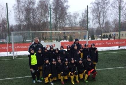 Смоленские футболисты сыграли вничью с московским «Локомотивом»