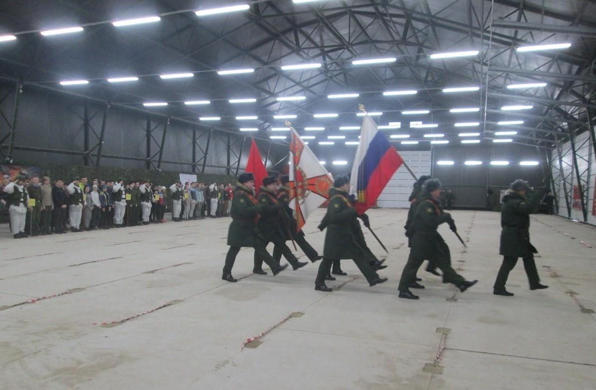 Смоленские юнармейцы приняли участие в зимней спортивной военно-тактической игре «Лазертаг»