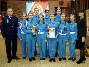 В Рославле чествовали победителей конкурса юных пожарных талантов