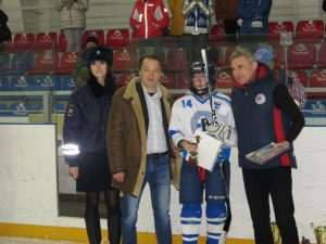 В Смоленской области состоялся турнир «Хоккей ради безопасности на дороге»
