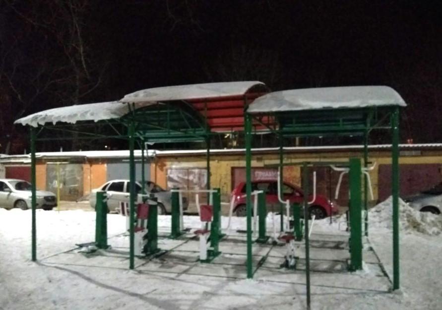 Смоленск спортивный. Ещё один тренажёрный зал под открытым небом появился в центре города