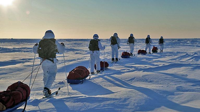 Сверхдальний лыжный переход десантников пройдет через Смоленск