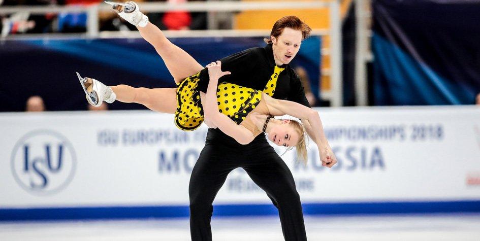 Российские фигуристы заняли весь пьедестал на чемпионате Европы в Москве