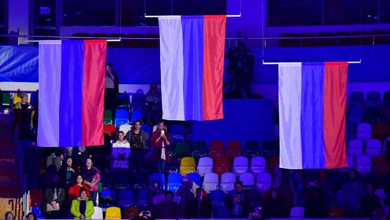 Источник в МОК: флаг России на трибунах Олимпиады не запрещен
