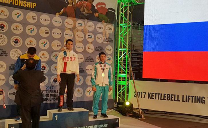 Гиревики из Смоленска победили на чемпионате мира в Корее