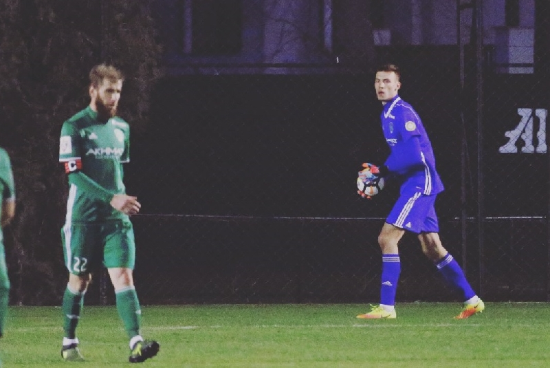 Вратарь из Смоленска прокомментировал свой дебют за «Ахмат»
