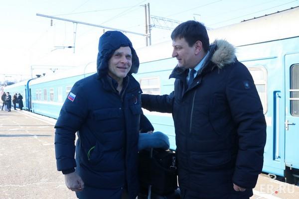 В Смоленск прибыл Олимпийский чемпион по дзюдо Эцио Гамба