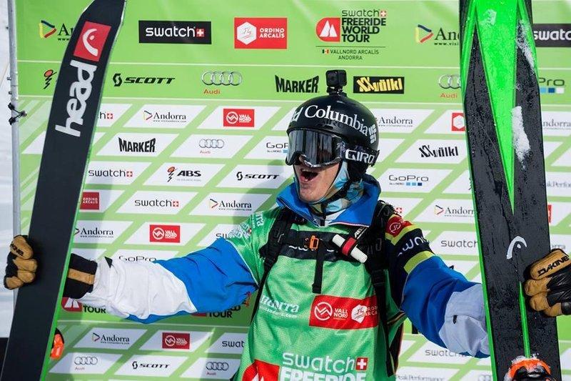 Смоленский фрирайдер победил на этапе мирового тура