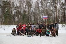 В Тёмкинском районе прошел чемпионат по хоккею с мячом на валенках