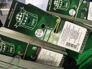 Один из ведущих футбольных клубов России экипируется в Смоленске