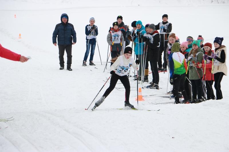 В Дорогобуже назвали лучших лыжников