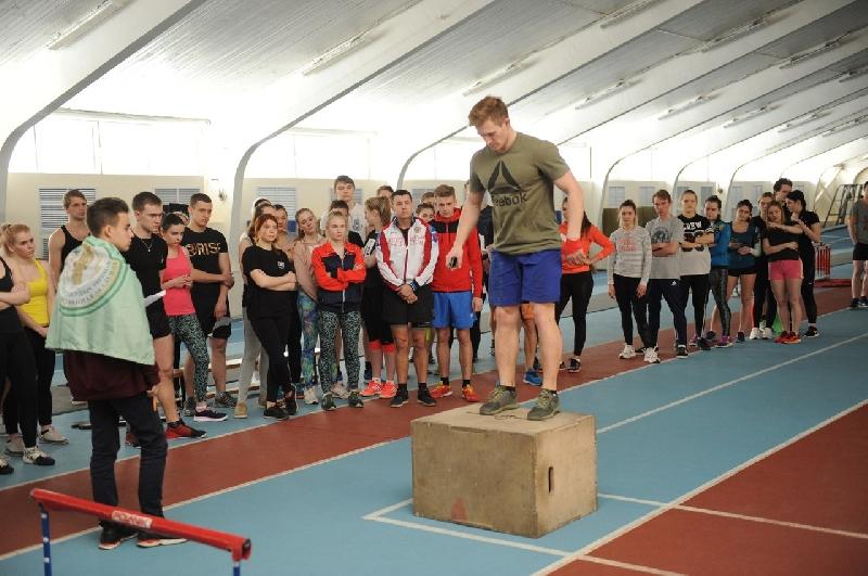 В Смоленске состоялись соревнования по кроссфиту
