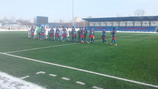 ЦРФСО в Смоленске выиграл у клуба «Луки-Энергия»