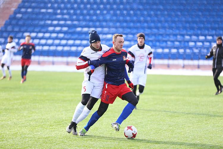 ЦРФСО в Смоленске выиграл у клуба «Красный»-СГАФКСТ