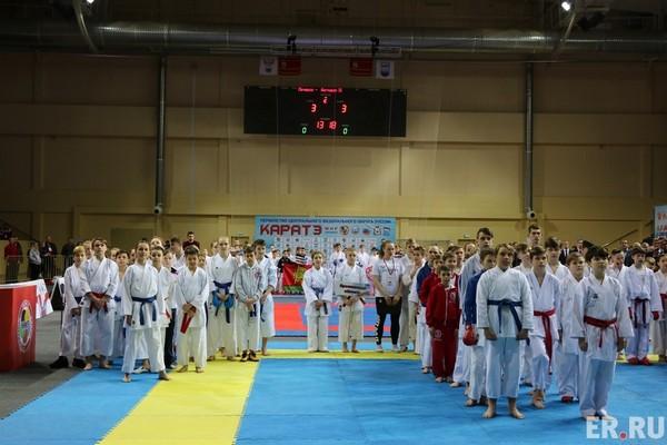 Смоленск впервые принял первенство Центрального федерального округа по каратэ