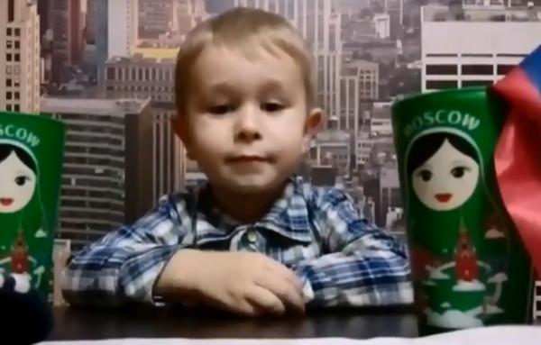 Трехлетний смолянин получит подарок от сборной России по футболу