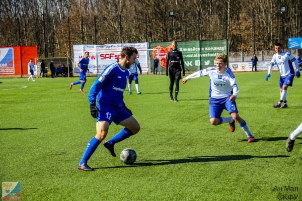 Команда СГАФКСТ-ЦРФСО сыграла вничью с казанским вузом