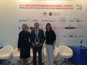 Министерство спорта РФ наградило смолян