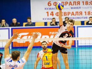 Смоленский волейболист вошел в расширенный состав сборной России