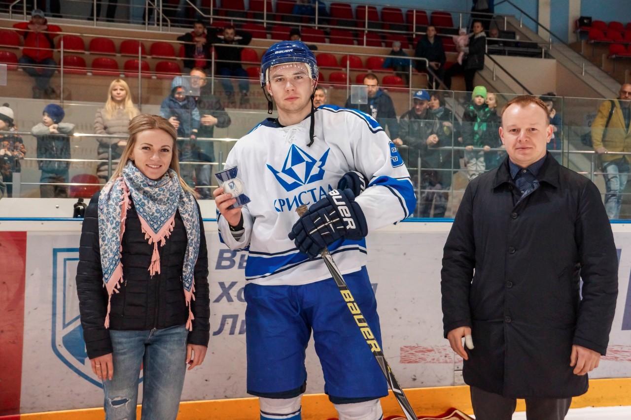 ХК СГАФКСТ стал чемпионом города Смоленска по хоккею