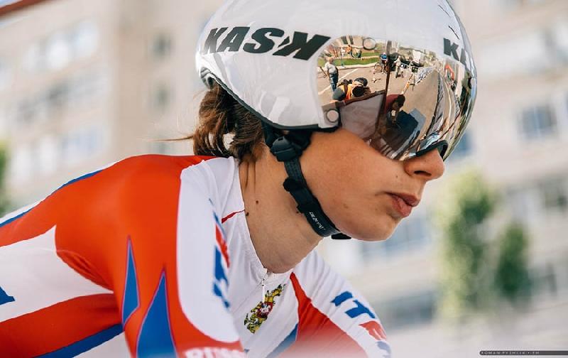 Выпускница Смоленского училища завоевала «бронзу» на втором этапе велогонки Tour of Chongming Island