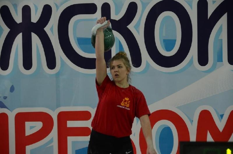 Смолянка выиграла первенство России по гиревому спорту