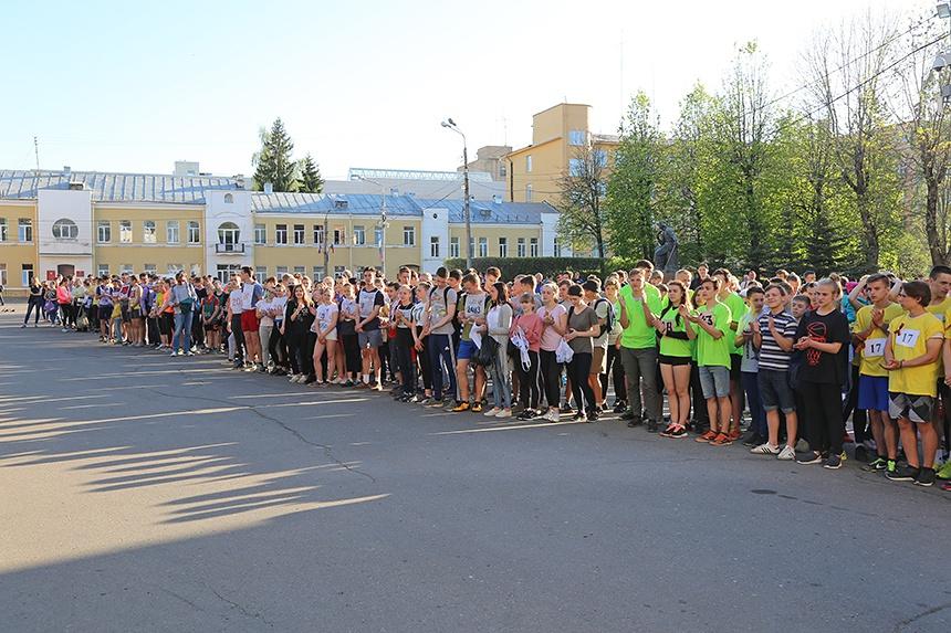 Более 500 смолян приняли участие в «Эстафете Победы»