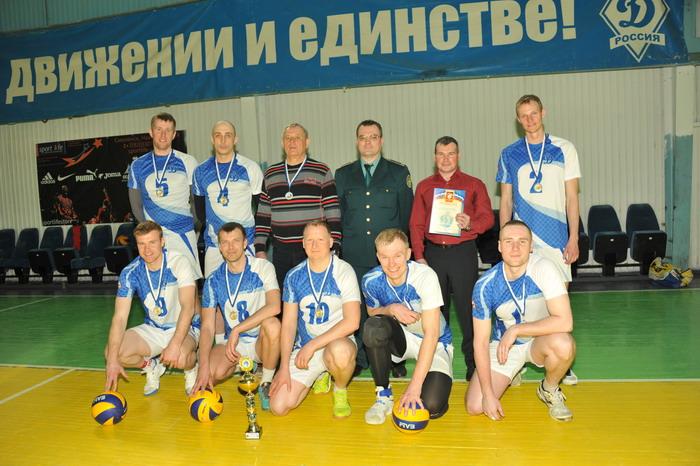 Смоленские таможенники стали чемпионами «Динамо» по волейболу