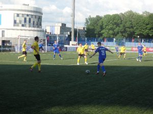 Футболисты СГАФКСТ не смогли обыграть команду из Долгопрудного