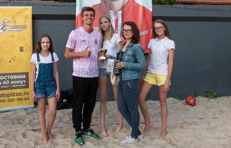 В Смоленске определили лучший гол турнира по пляжному футболу