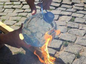К ЧМ-2018 выпущены бутылки, способные устроить пожар.